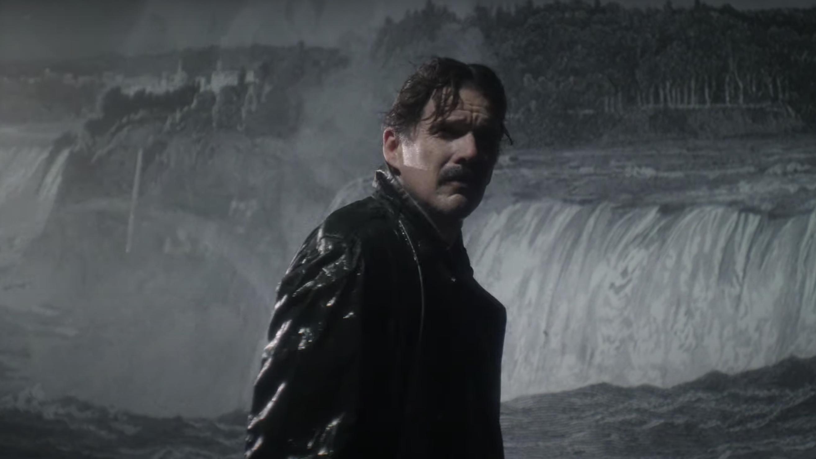 Ethan Hawke kao Nikola Tesla