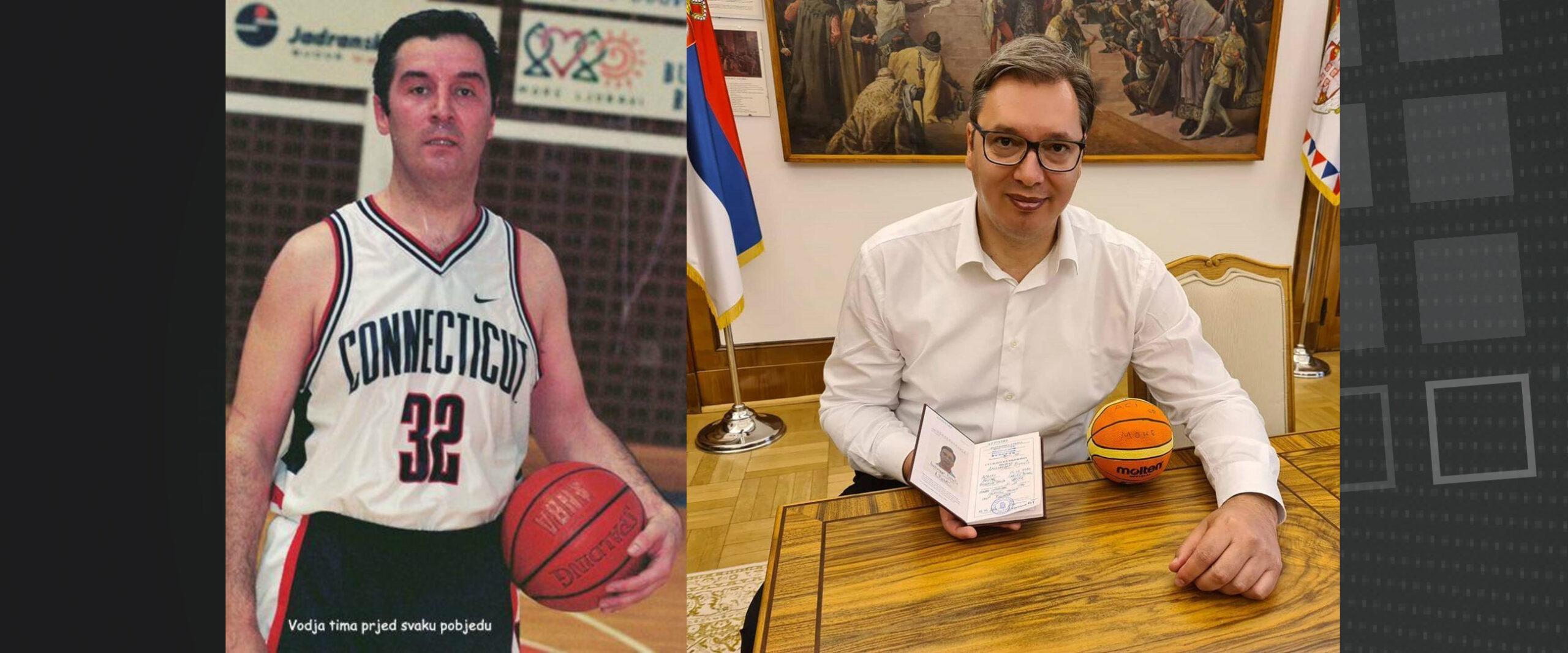 Đukanović čestitao Vučiću početak košarkaške karijere