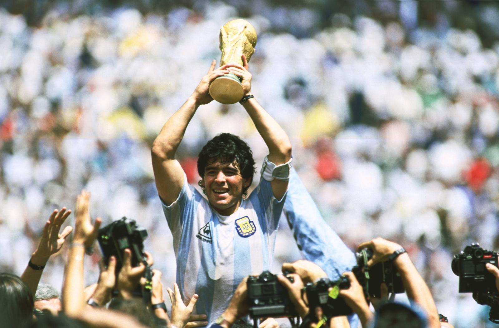 Eternas gracias! Eterno Diego!